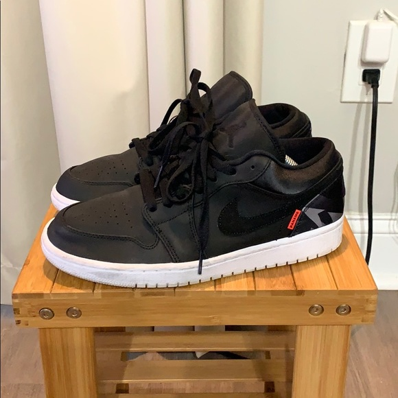 Nike Shoes Air Jordan 1 Low Paris Saintgermain Black Poshmark